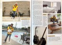 Reprodução de páginas da revista Morar (publicação do GCN Comunicação)