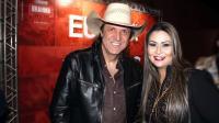 Juliano Cezar e Melissa Toledo durante o lançamento da Festa do Peão de Barretos 2019